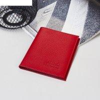 Бумажник водителя бвк-085 10*13*1  (флотер, доллар красный)