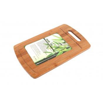 Доска разделочная 36*22*1 см, бамбук
