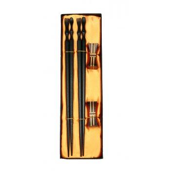 Набор палочек для суши на 2 персоны с подставками 27*8*3см (