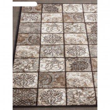 Прямоугольный ковёр valencia deluxe d328, 300x400 см, цвет brown