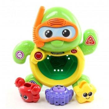 Игрушка для ванны черепаха
