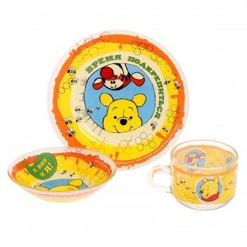Посуда детская время подкрепиться медвежонок винни и его друзья, кружка,та