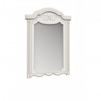 Зеркало комода «барбара», 797 x 1060 мм, цвет белый / золото