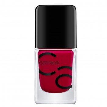 Лак для ногтей catrice iconails gel lacquer, тон 02 bloody mary to go крас