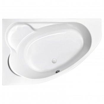 Ванна акриловая cersanit kaliope 170x110, левая, цвет белый