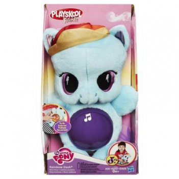 My little pony. playskool friends рейнбоу дэш светится,0+