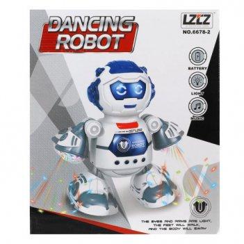 Робот эл., свет, звук, эл.пит.аа*3шт.не вх.в комплект