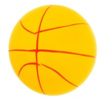 Мяч баскетбол детский 22см 120гр, цвета микс