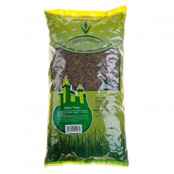 Семена газонная травосмесь евро-лень, 1 кг