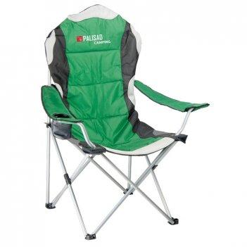 Кресло складное с подлокотниками и подстаканником, 60 х 60 х 110/92 см, ca