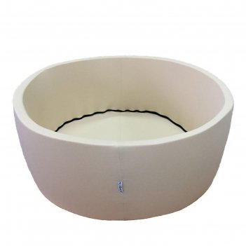 Сухой бассейн «бежевый лайт», h=33 см, d=85 см