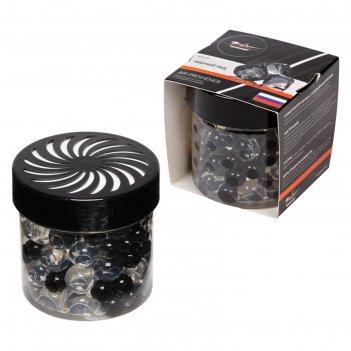 Ароматизатор-банка airline с гелевыми шариками, черный лед afsh177