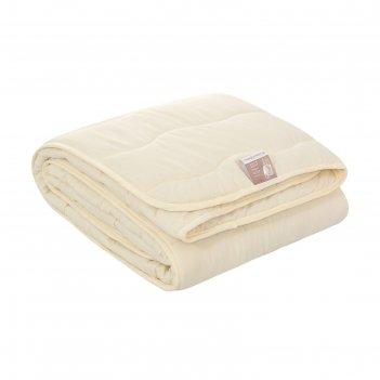 Одеяло овечья шерсть 2 сп, файбер 150 г/м2, микрофибра, п/э 100%