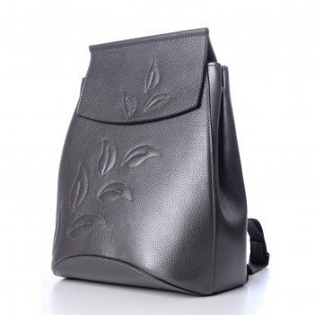 Рюкзак женский, натур.кожа, мод.14018 9с2524к45, цвет платина