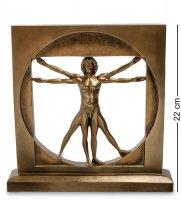 Ws- 70/ 1 статуэтка витрувианский человек (леонардо да винчи)