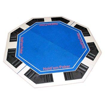 Накладка для покера jack на 8 игроков, складная