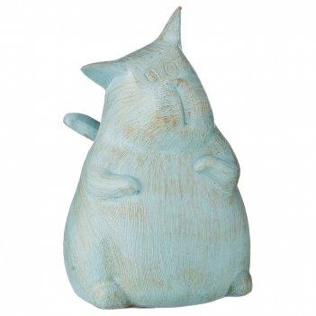 Статуэтка кот 11,5*12,5*17 см. серия фьюжн (кор=18шт.)