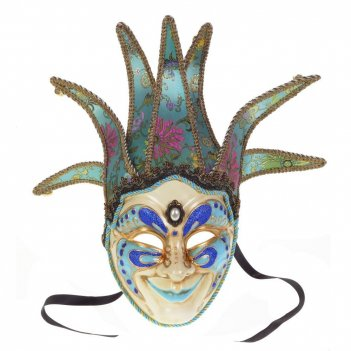 Карнавальное изделие для взрослых маска, 24,5х18х11 см