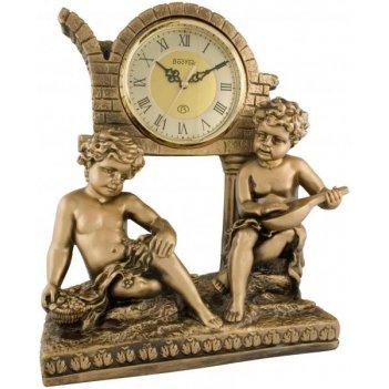 Скульптурные часы из полимерных смол восток к4532-1