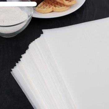 Бумага для выпечки, профессиональная 40 х 60 cм nordic eb golden, 500 лист