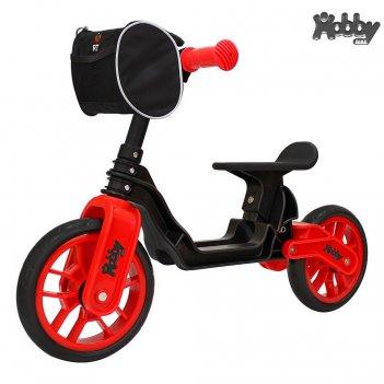 Ор503 беговел hobby bike magestic black