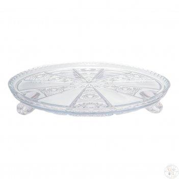 Тортница bohemia max crystal 32 см