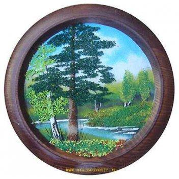 Тарелка декоративная д-15см