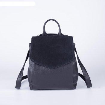 Рюкзак 1161 99, 23*13*27, отд на молнии, н/карман, черный