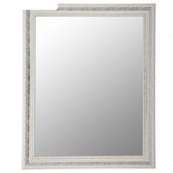 Зеркало настенное «верона», белое, 60x74 см