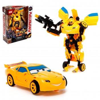 Робот-трансформер автобот, цвета микс