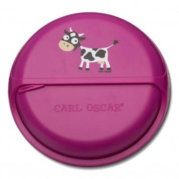 Ланч-бокс для перекусов snackdisc™ spider cow фиолетовый