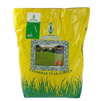 Семена газонная травосмесь солнечная поляна, 5 кг