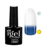 Топ-термо для ногтей, трёхфазный led/uv, 10мл, цвет прозрачный/синий