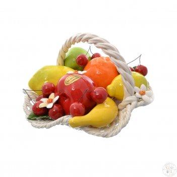 Корзина с волнистым краем orgia фрукты 30 см
