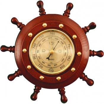 Шбст-с5 штурвал сувенирный, барометр (10 ручек)
