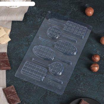 Форма для шоколада шоколад фигурный 22x13 см