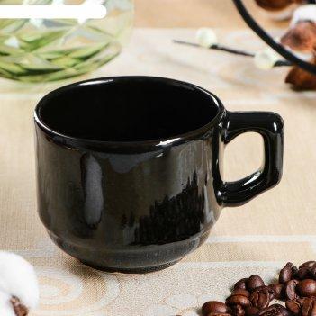 Кружка кофейная black, 120 мл