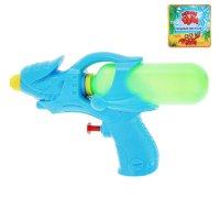 Пистолет водный, цвета микс (в фасовке 12 штук)