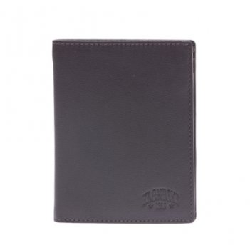 Бумажник klondike claim, натуральная кожа в коричневом цвете, 10 х 2 х 12,