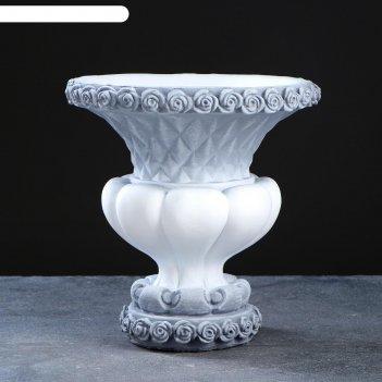 Фигурное кашпо - ваза ромб  антик