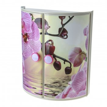 Полка для ванной орхидея