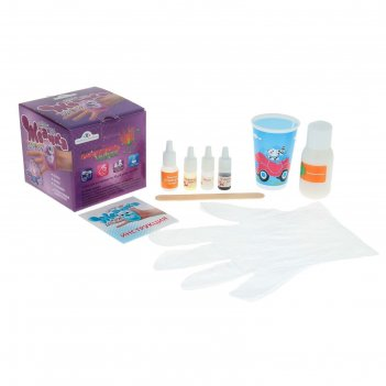 Набор для опытов и экспериментов жвачка для рук. жемчужный лотос 816