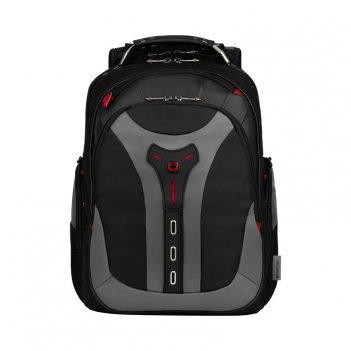 Рюкзак wenger 17, черный/серый, полиэстер, 37 x 24 x 48 см, 25 л