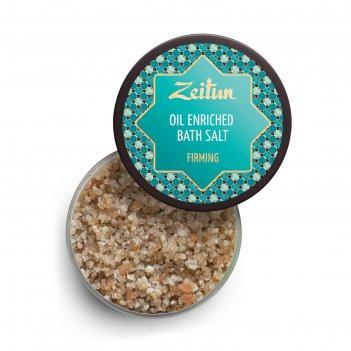 Ароматизированная соль для ванн zeitun «лифтинг» с экстрактом опунции и эф