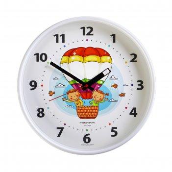 Часы настенные круглые воздушный шар,  30х30 см