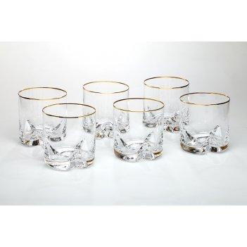 Набор стаканов для виски из 6 шт.трио 410 мл.