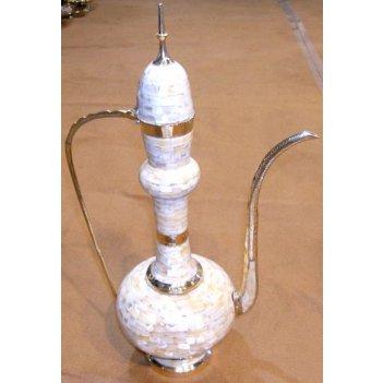 Кувшин с перламутровым декором полированный 24 #039; #039;