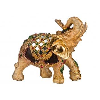 Фигурка слон высота=14 см длина=13 см