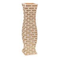 Ваза керамика напольная кирпичики 60 см день талия