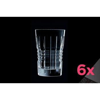 Набор высоких стаканов 360мл (6шт) rendez-vous cristal d'arques